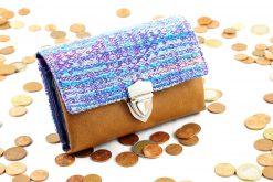 Little Ruby Hansedelli aus Tragetuch Geld Steckschloss kleine Geldbörse Schnittmuster Portemonnaie nähen