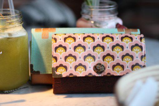 Geldbörse Little Ruby und Geldbörse Ruby im direkten Größenvergleich Portemonnaie nähen Geldbeutel Schnittmuster
