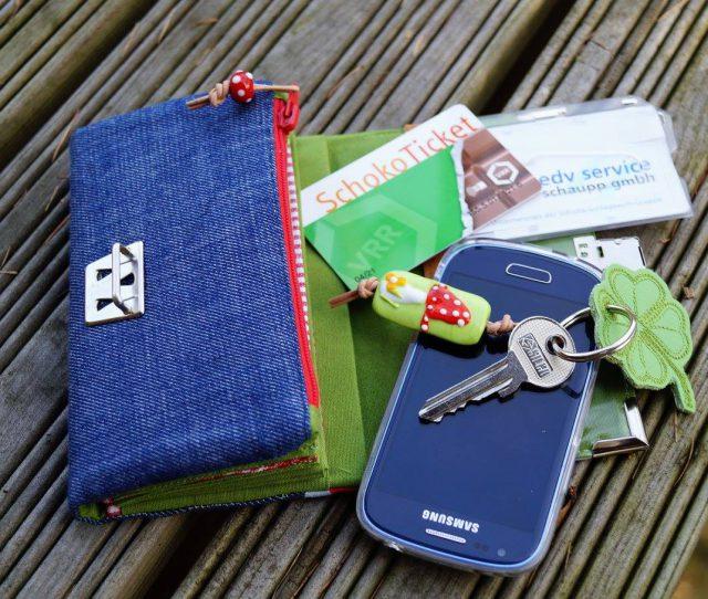 Little Ruby Hansedelli kleine Geldbörse für Kinder Jugendliche Inhalt Schnittmuster Portemonnaie nähen