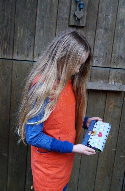 Little Ruby Hansedelli kleine Geldbörse für Kinder Schnittmuster Portemonnaie nähen