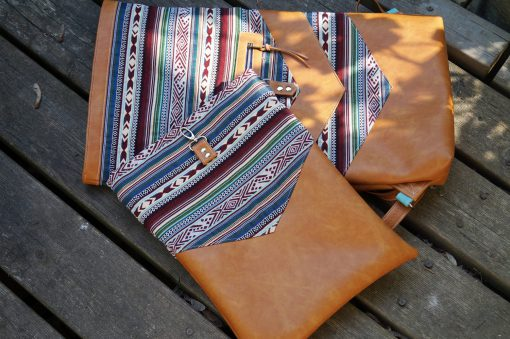 Varo Rucksack Laptoptasche Ethno Hansedelli