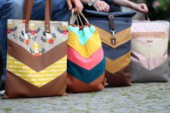 Schnittmuster Varo Varianten Shoppingbag Turnbeutel Rolltop Rucksack Hansedelli