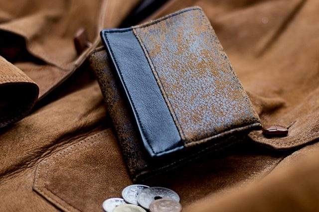 Mr Ryks Hansedelli Braune Leder Männergeldbörse nähen Portemonnaie für Männer Schnittmuster Kindergeldbörse