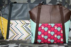 Lexa und Lexa Big Hansedelli Businessbag Weekender nähen Wickeltasche Schnittmuster