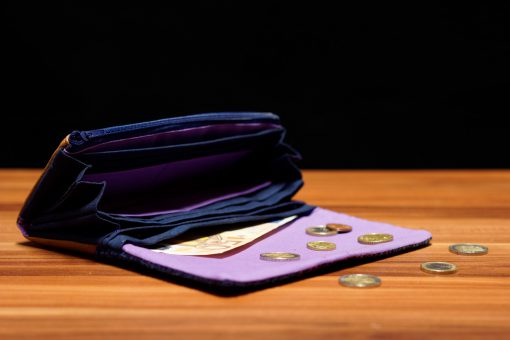 Ruby Onyx Hansedelli Tragetuchstoff Innenansicht Geldbörse nähen Portemonnaie Schnittmuster