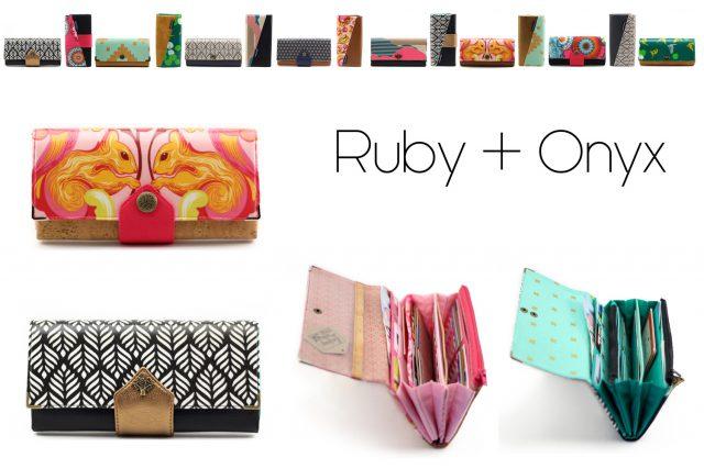 Ruby Onyx Hansedelli Titelbild Geldbörse nähen Portemonnaie Schnittmuster