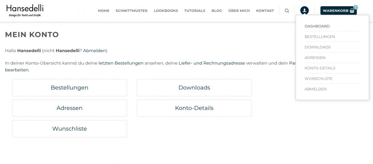 Mein_Konto_Website_Hansedelli