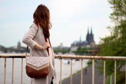 Tasche Vara Hansedelli nähen Kölner Dom