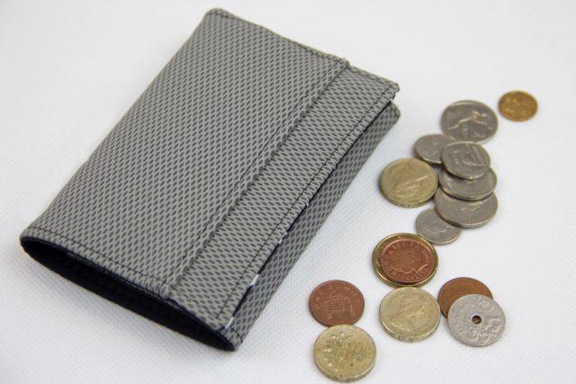 Mr Ryks Hansedelli grau Mesch Leder Männergeldbörse nähen Portemonnaie für Männer Schnittmuster Kindergeldbörse
