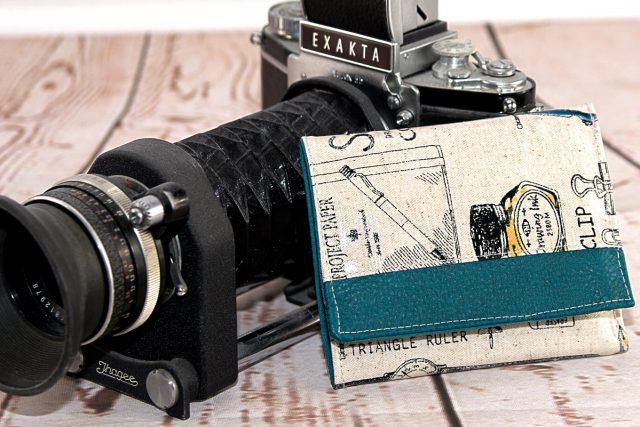 Mr Ryks Hansedelli Retro Wachstuch Männergeldbörse nähen Portemonnaie für Männer Schnittmuster Kindergeldbörse
