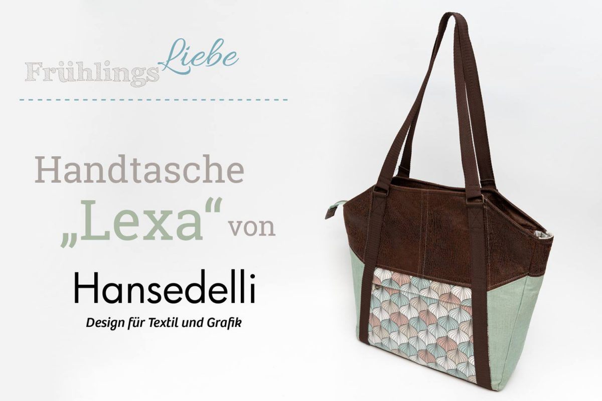 Lexa Videoanleitung Hansedelli Frühlingsliebe nähen Shopper Schnittmuster Video