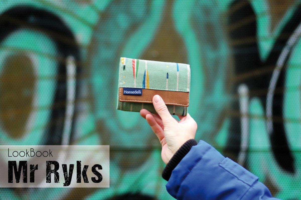 Mr Ryks Hansedelli Männergeldbörse nähen Portemonnaie für Männer Schnittmuster Kindergeldbörse LookBook
