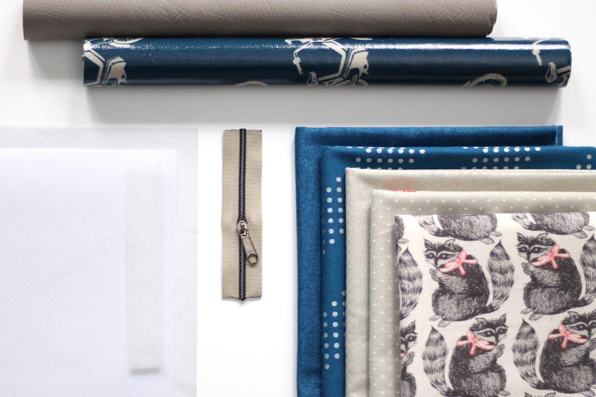 Mr Ryks Hansedelli benötigte Materialien Männergeldbörse nähen Portemonnaie für Männer Schnittmuster Kindergeldbörse