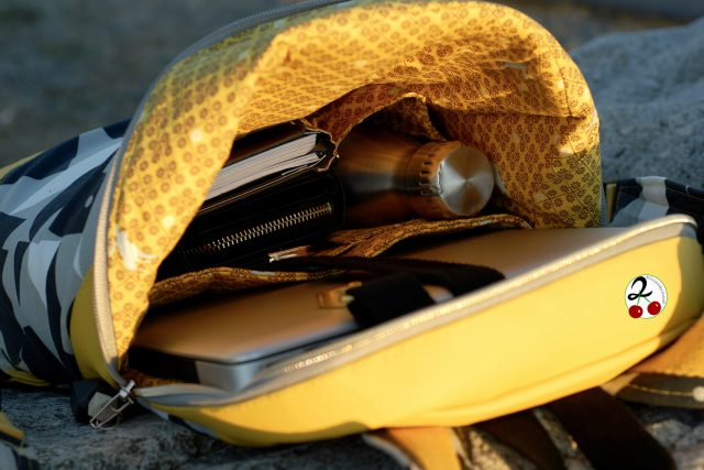 Rucksack ROANA von Hansedelli Innenfächer Rucksack nähen Schnittmuster