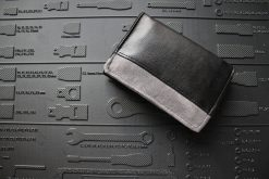 Mr Ryks Hansedelli schwarz grau Männergeldbörse nähen Portemonnaie für Männer Schnittmuster Kindergeldbörse