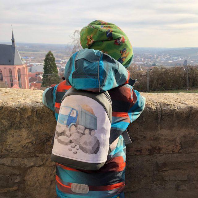 ROANI Hansedelli Kinderrucksack nähen für Kinder Schnittmuster Rucksack Jungs LKW