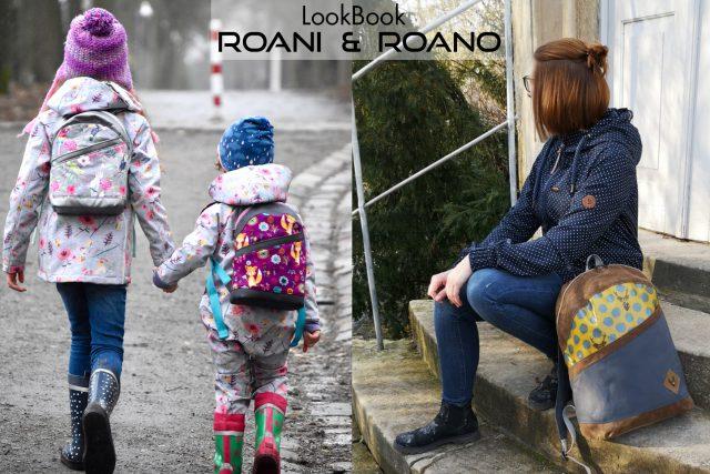LookBook ROANI ROANO Hansedelli Rucksack nähen