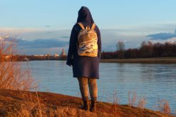 ROANO Hansedelli Rucksack nähen für Männer Schnittmuster Wellen japanisch