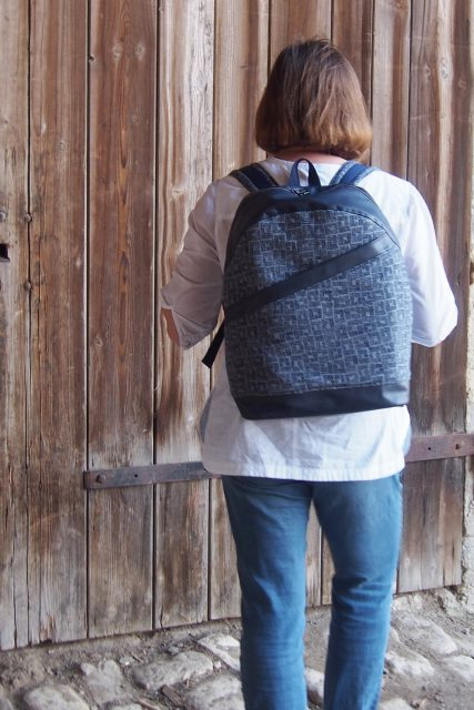 ROANO Hansedelli Rucksack nähen für Männer Schnittmuster großer Rucksack