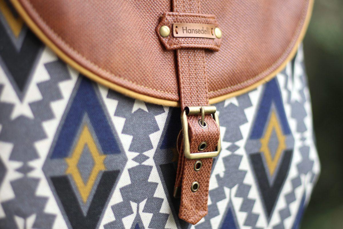 Riemenverschluss selber machen fake magnet Taschenverschluss Tutorial