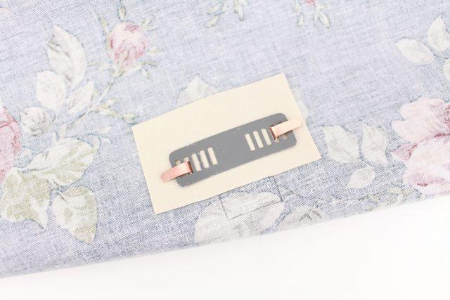 Taschenverschluss befestigen hansedelli Schnittmuster Bohobag Bohania