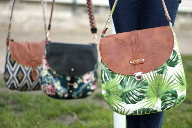 Hansedelle Taschenverschlüsse befestigen Mappenschloss Bohobag Bohania Sommertasche nähen