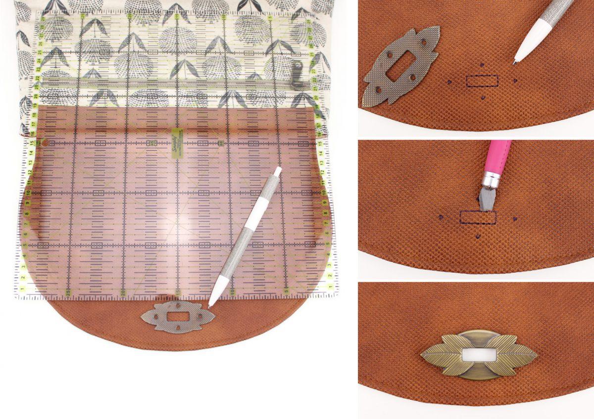 Drehverschluss Blattverschluss befestigen Tutorial
