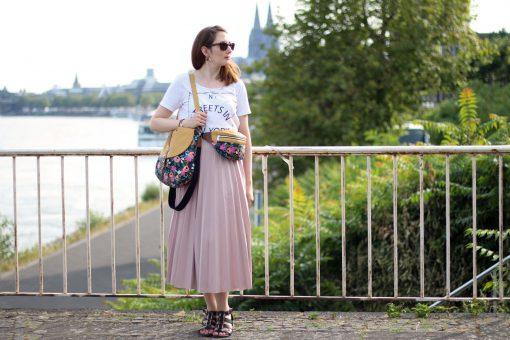 Bauchtasche Rikka und Bohobag Bohania Hansedelli Schnittmuster Tasche nähen Köln Dom Cotton and Steel