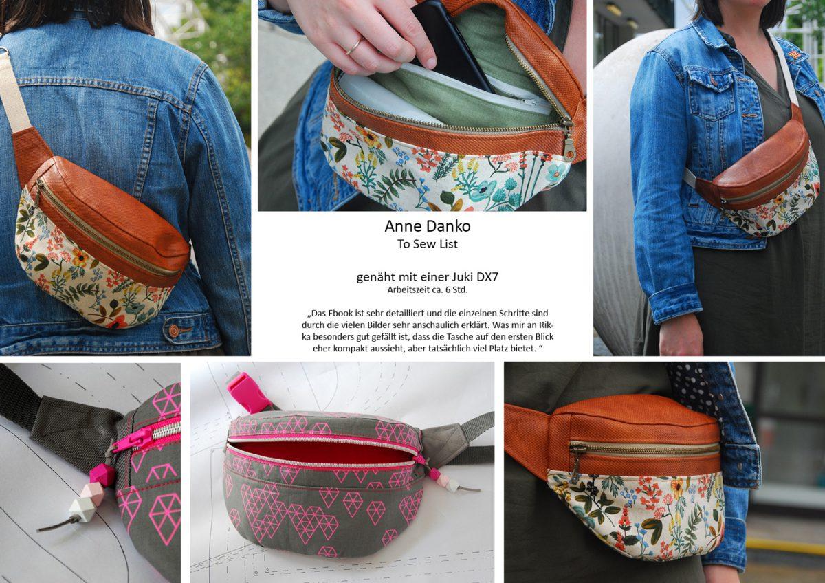 Rikka Lookbook To Sew List