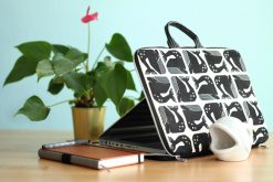 Kuoria Laptoptasche Wale Cotton Steel Seaside Hansedelli