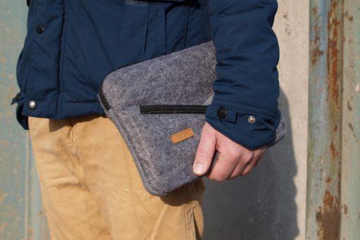 Kuoria 10 inch Tablettasche nähen Hansedelli Schnittmuster
