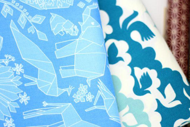 Origami Tiere Asien Stoffe Hansedelli