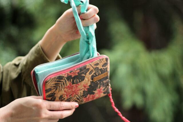 Little Mynta Tasche für Einkaufsbeutel nähen Hansedelli