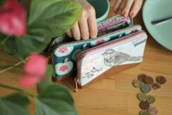 Little Mynta + Mynta Größenvergleich Geldbörsen Portemonnaie nähen Hansedelli