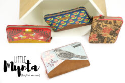 Wallet Little Mynta ebook pattern and sewing instructions