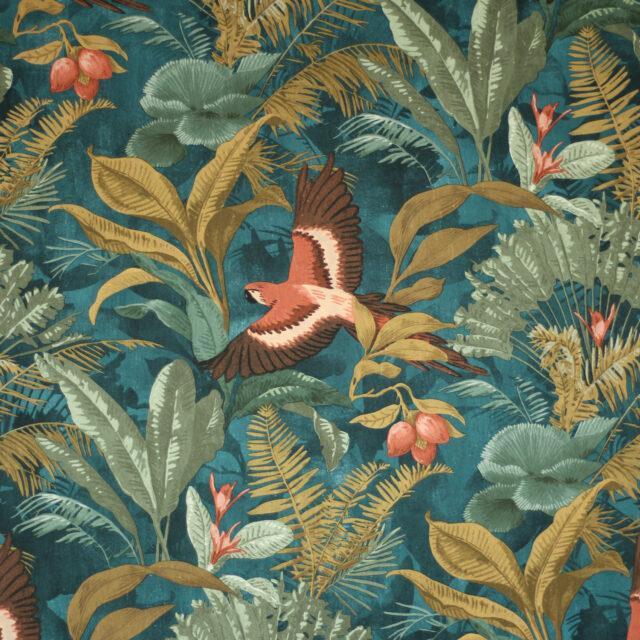 Dschungeltapete Lieblings des Monats Hansedelli einrichten