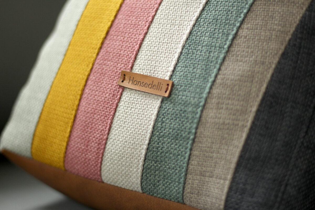 Regenbogen Farben Pastellfarben Kissen nähen