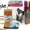 Bag Little Foksa pattern smartphone wallet sewing