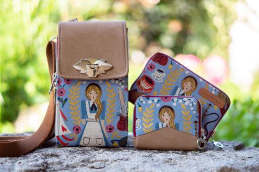Hansedelli Ebook Bundle Geldbörse Mini Mynta + Little Mynta + Little Foksa Tasche Schnittmuster